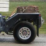 Crane tag axle